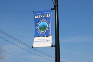Banners along Rte 50